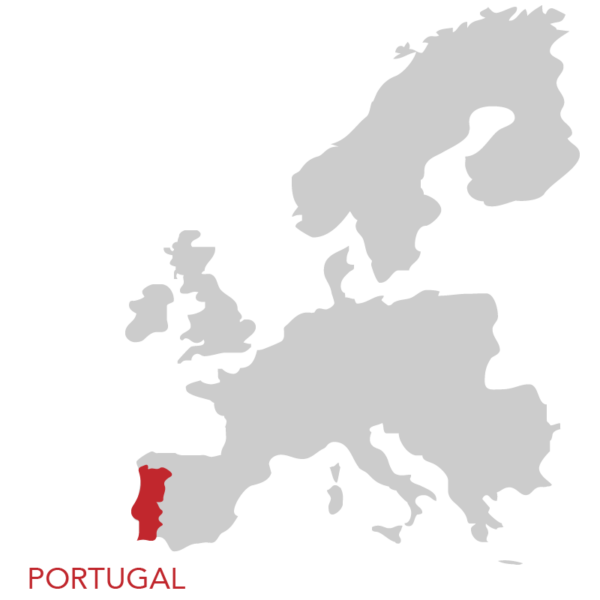 portugal-europe-map-red